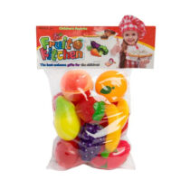 10PCs Kids Pretend Fruit Set (3 Years+) - Multicolor