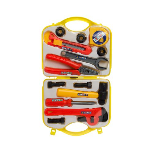 Durable Kids Toy Toolset – Comes in Yellow Sturdy