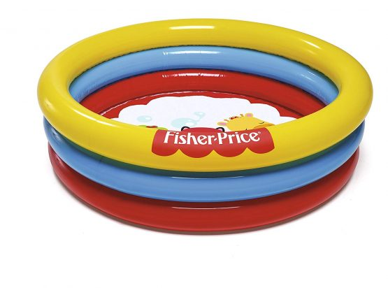 Fisher Price 3-Ring Ball Pit Play Pool For Ages 2 And Up