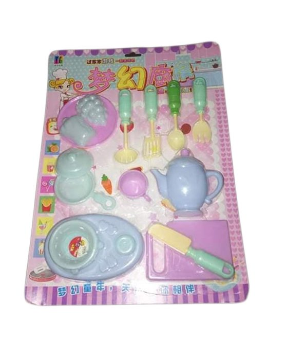 Kids Funny Kitchen Set Pretend-n-Play Toy  (2+ Years) – Multicolor