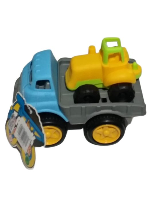 Kids Plastic Construction Truck Toy for Boys – Multicolor