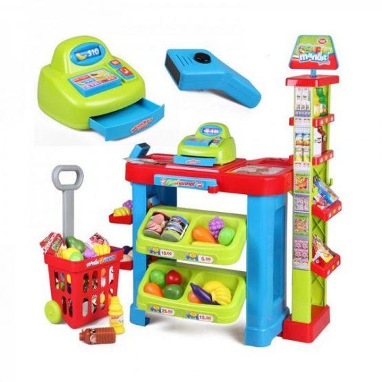 Kids Supermarket Pretend  Play Set – 3+  Years – Multicolor