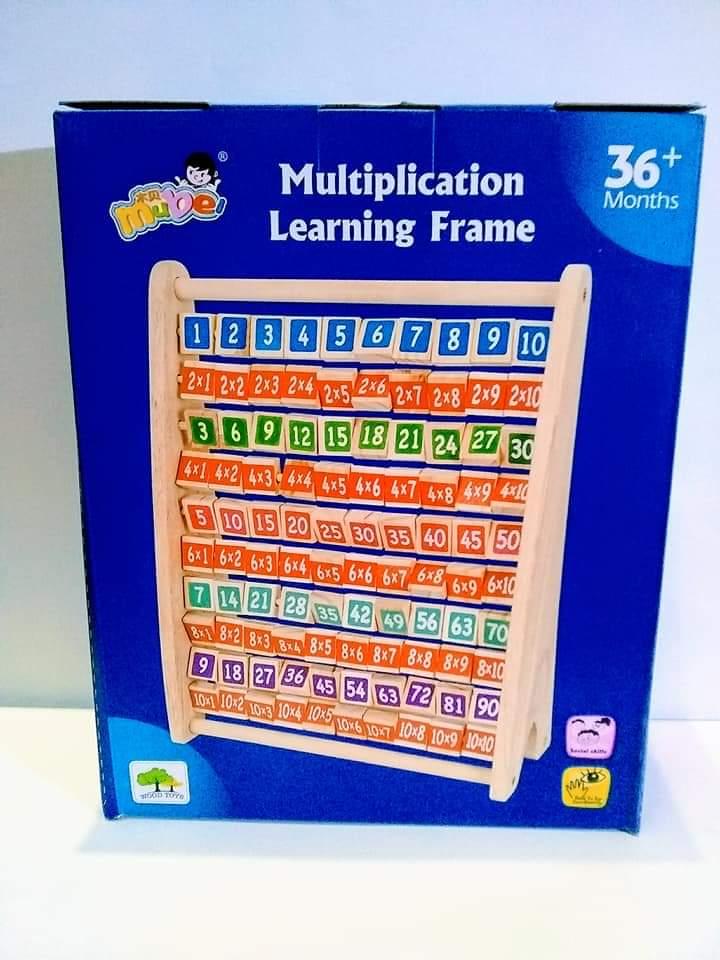 Multiplication Learning Frame-3
