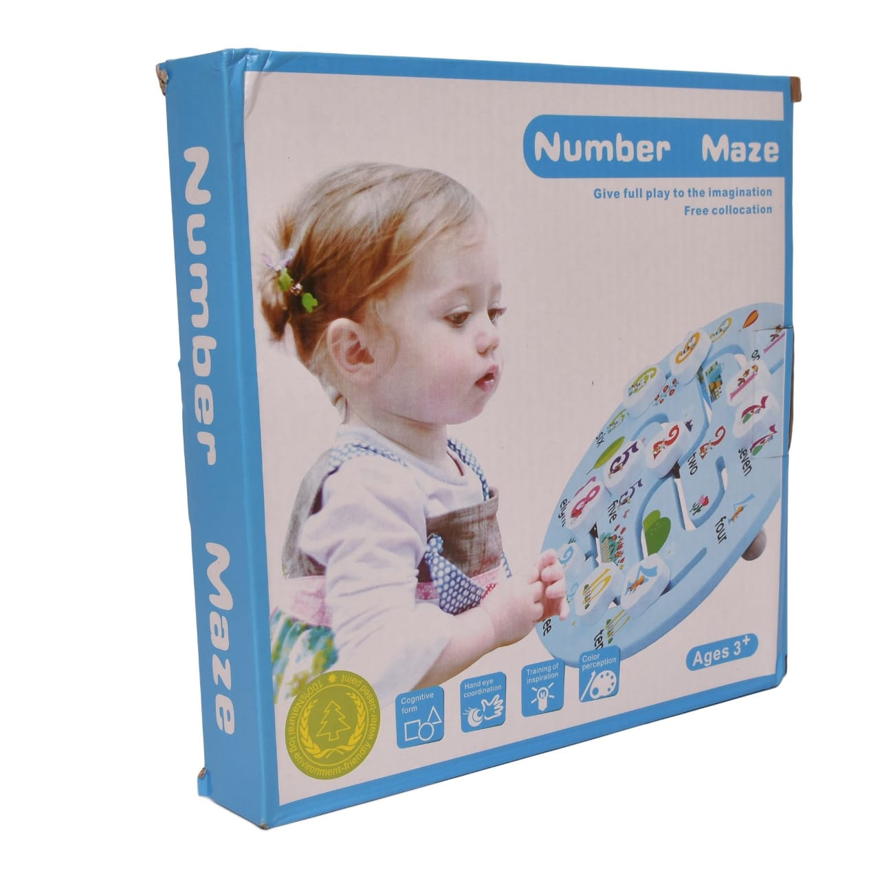 NUMBER MAZE PUZZLE