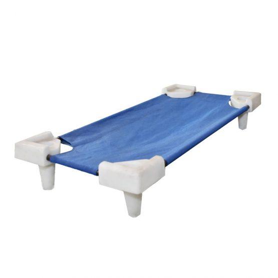 Blue Stackable Kindergarten Bed