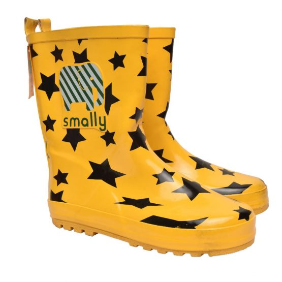 Smally Rubber Kids Gumboots – Yellow