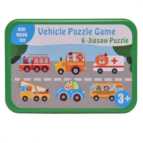 6-Jigsaw Puzzle 3D Vehicle Puzzle Game