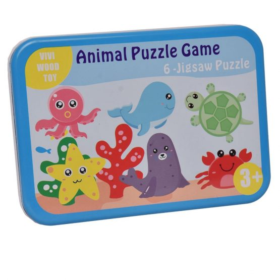 Animal Puzzle Game