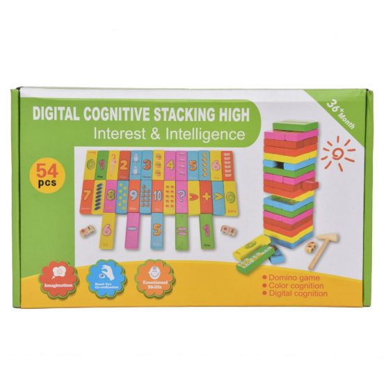 Digital Cognitive Stacking High – Early Educational Toy