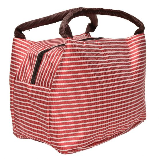 Insulated Lunch Bag – Red
