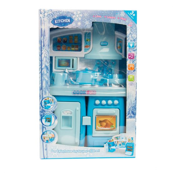 Deformation Kitchen Set – Blue