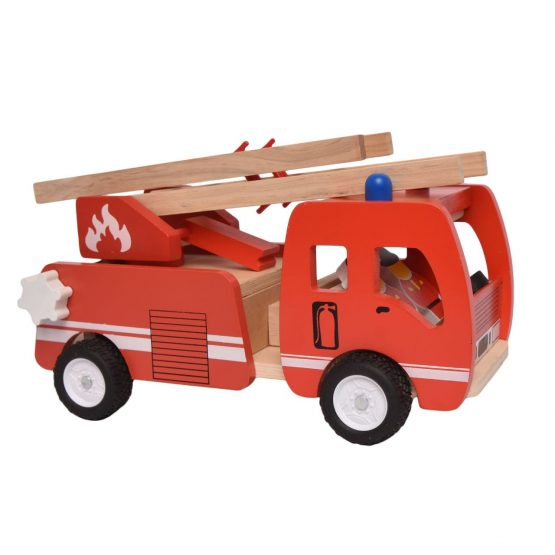 Kids Fire Truck Toy – Red