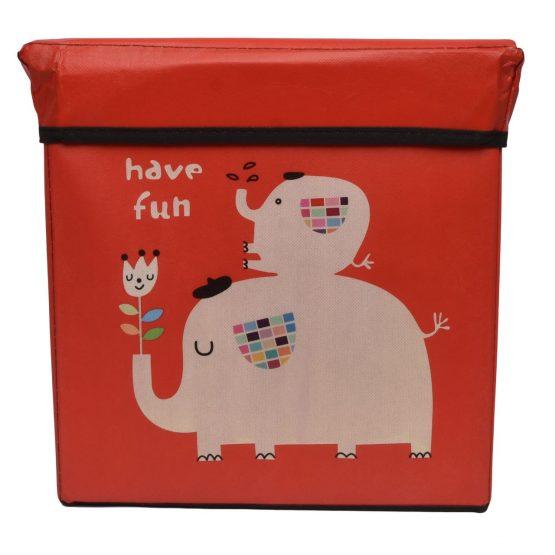 kids ottoman storage box
