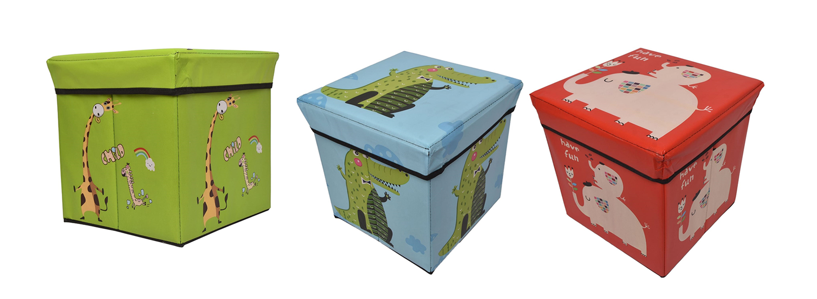 2 in 1 Foldable Multipurpose Storage Box