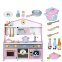 Japanese Style Wooden Pretend Kitchen Toy Set