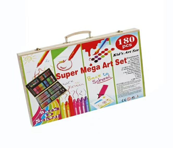 180pcs Kids Mega Art Set