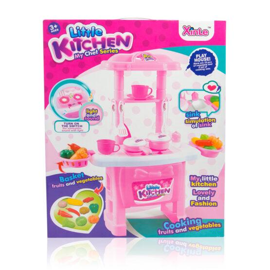 Kids Pretend Play Kitchen Set
