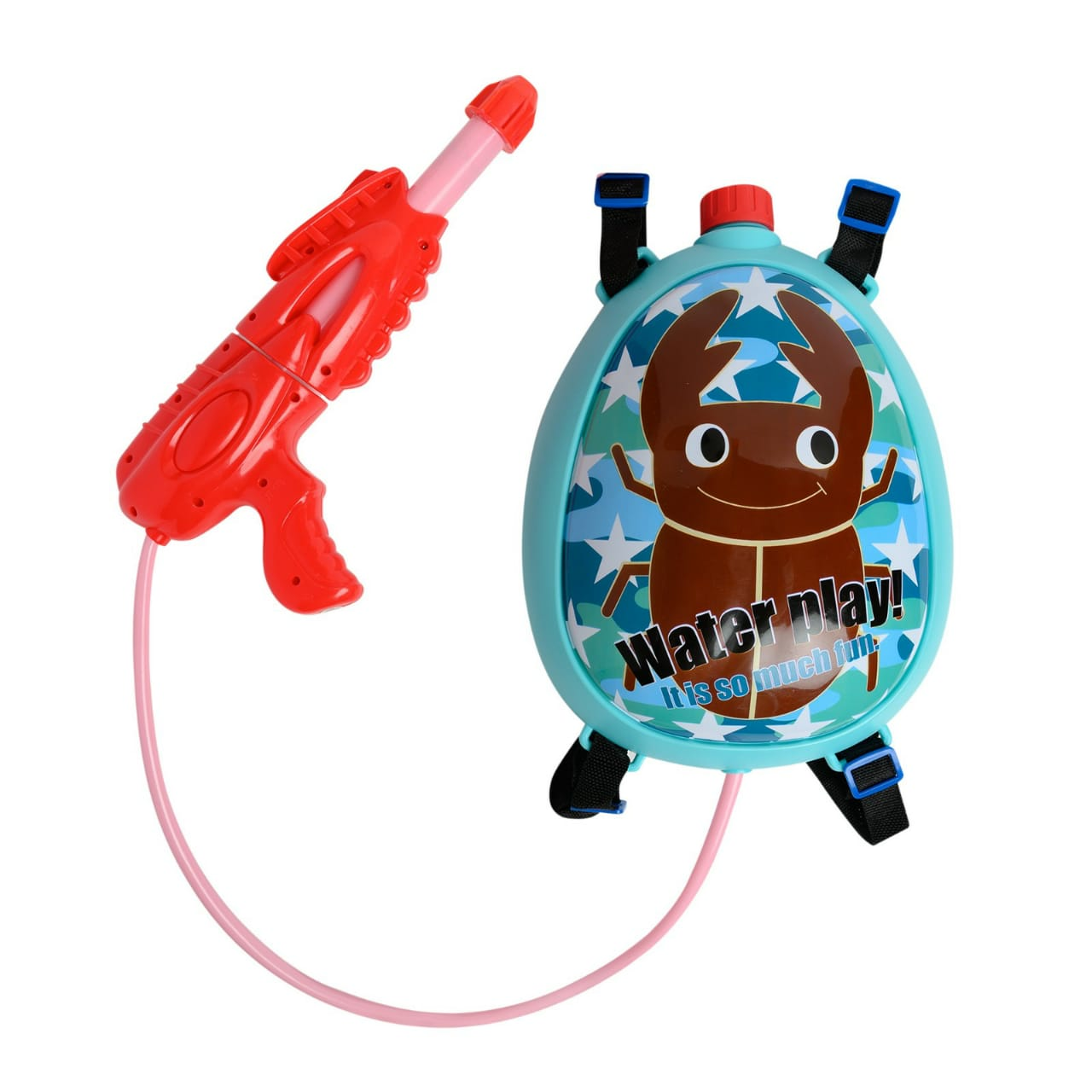 Water Play Backpack Water Gun for Kids