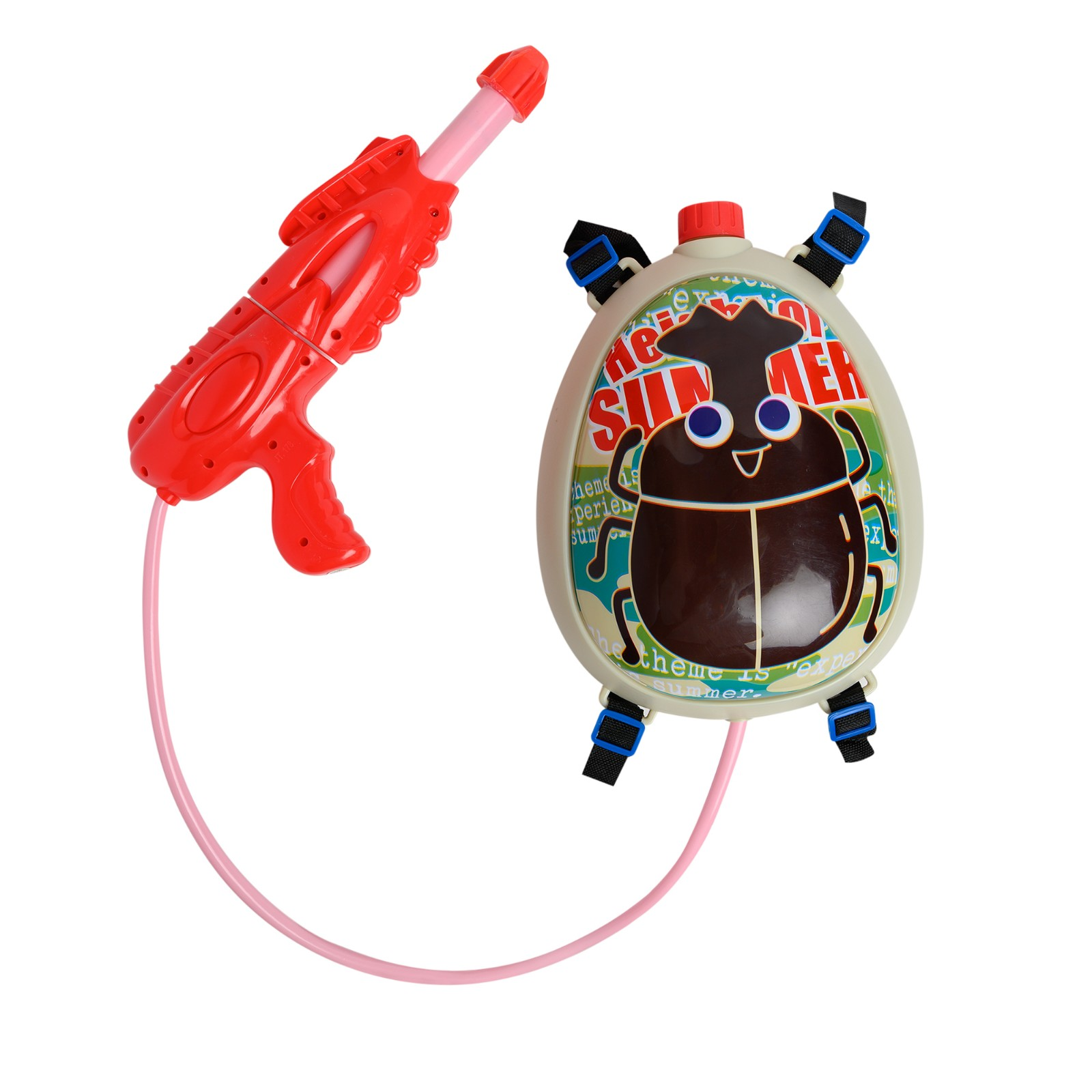 Space Travel Backpack Water Gun for Kids
