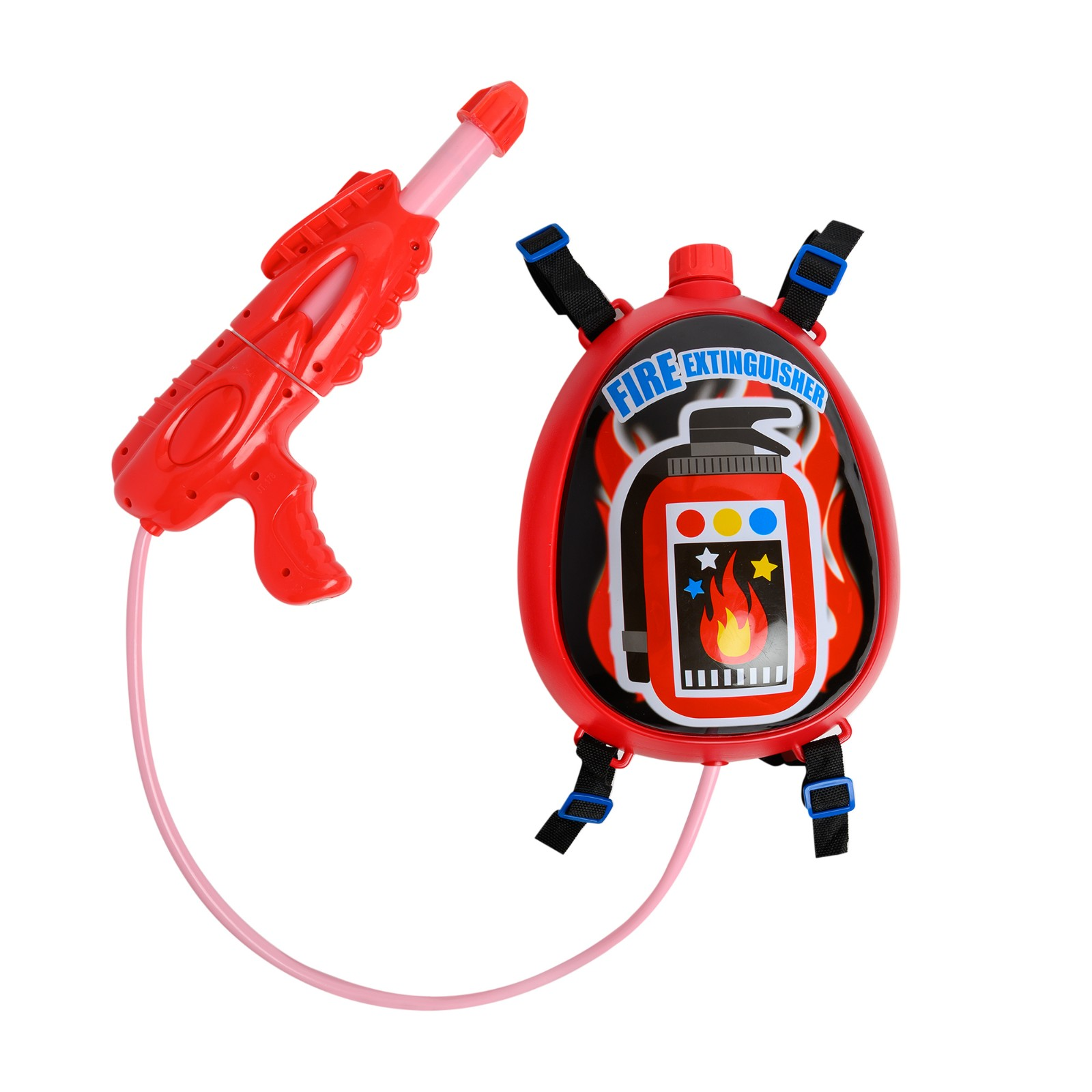 Fire Extinguisher Backpack Water Gun for Kids