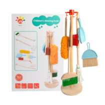 Wooden Detachable Toy Cleaning Set