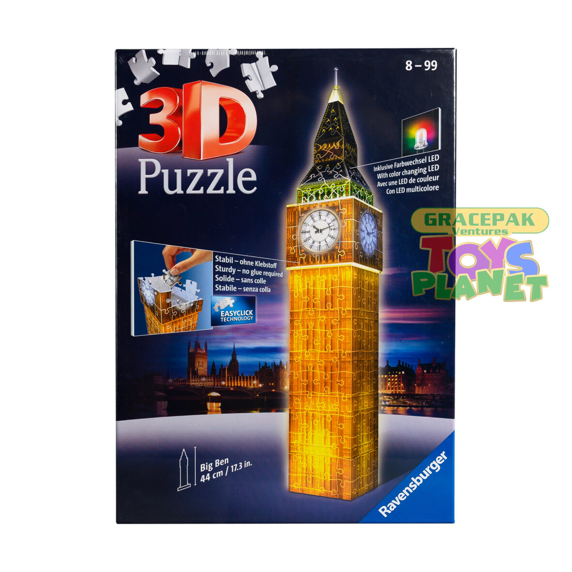 Ravensburger Big Ben 3D Jigsaw Puzzle For Kids and Adults